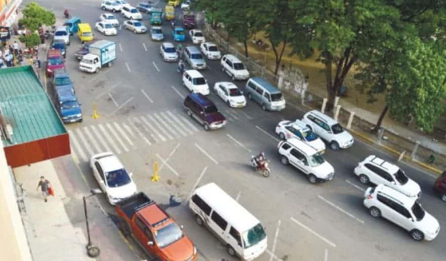 Cebu Traffic Cars