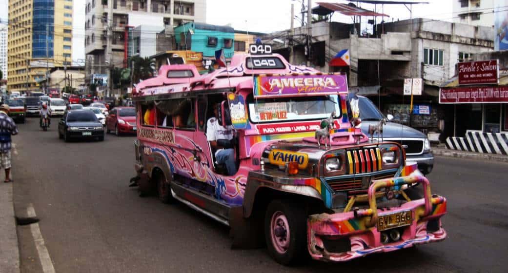 Jeepney in Cebu