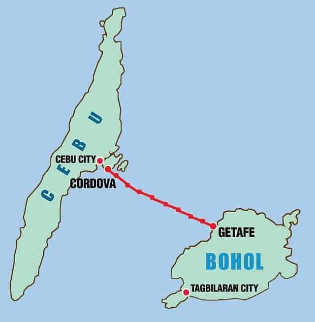 Bohol from Cebu