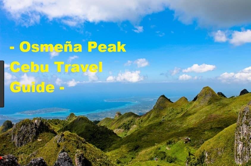 Osmena Peak Cebu Trip: A Place to Get Back to Nature