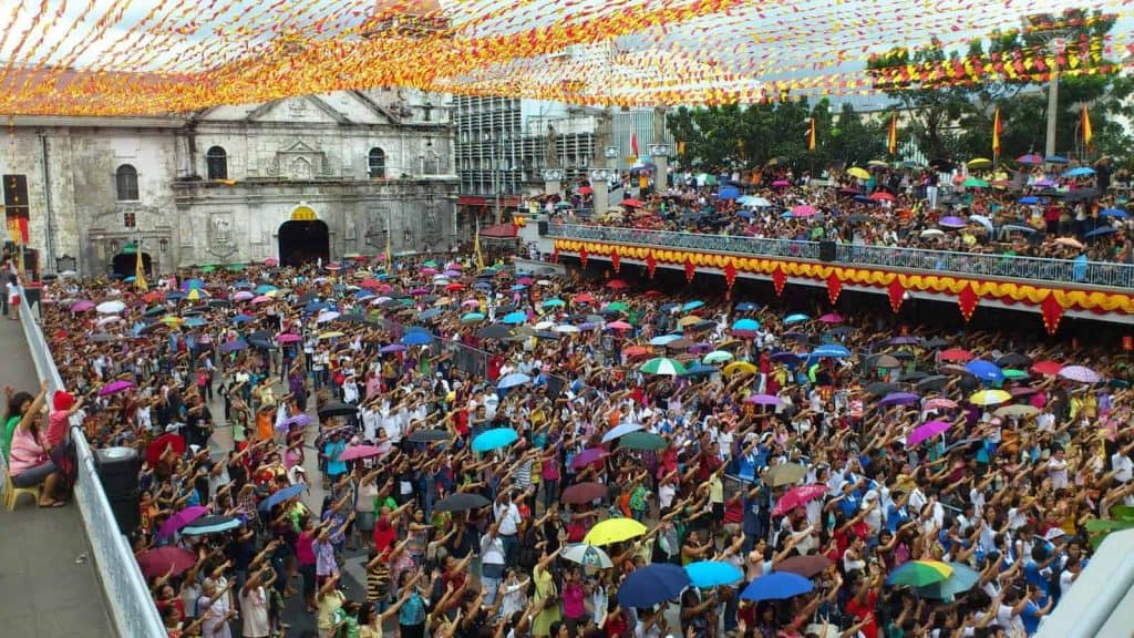 Experience the Sinulog at the Grand Stand